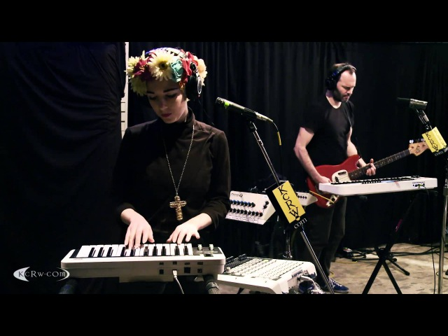 Ultraista performing Bad Insect Live on KCRW
