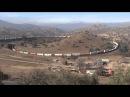 Tehachapi Loop - Long take