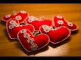 DIY Сердечко из фетра Valentine's Day Felt Heart
