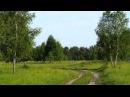 Russian folk song. Над окошком месяц.