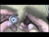 Регулятор натяжения верхней нити, как собрать и установить. Видео № 134.