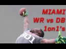 Miami WR vs DB 1 on 1's | Nike Football's The Opening Regionals