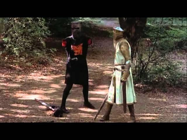 черный рыцарь(Монти Пайтон и поиски Святого Грааля )