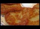 Картофельные драники постные