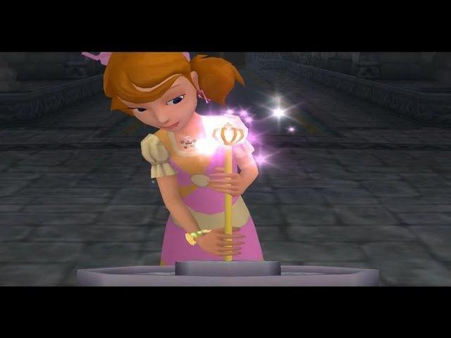 Принцессы Диснея Зачарованный Мир Прохождение Часть 1