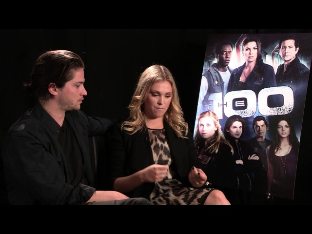 The 100 Thomas McDonell and Eliza Taylor interview