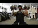IFBB Men's Physique Pro Тори Вудворд. Тренировка дельтовидных мышц за 3 недели до Сакраменто Про 2015 (без перевода)