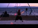 Jonathan Alvarez ~ 3 Pod Poi ~ Lake Tahoe Flow Arts Festival ~ 2013
