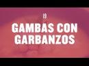 19 GARBANZOS CON LANGOSTINOS