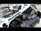 2007 Fatty Honda Ruckus on Air Ride. Walk around.