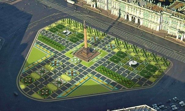 Петербург на три дня станет ландшафтной столицей мира