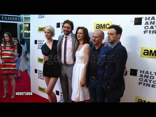Lee Pace attends AMC's new series 'Halt And Catch Fire' Los Angeles Premiere