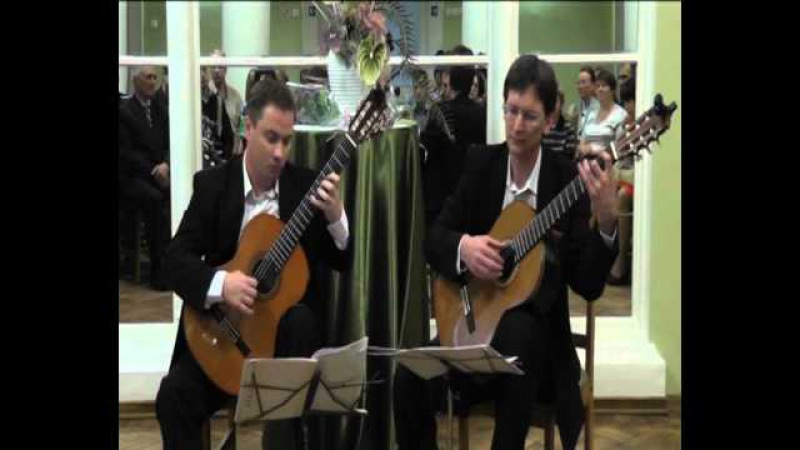 Дуэт ParaDek. Jorge Cardoso - Portena Suite Popular No 4