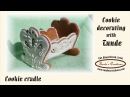 How to make a 3D gingerbread cradle cookie