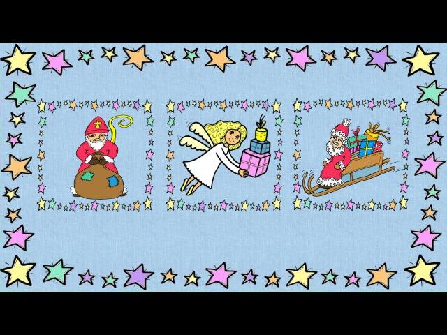 Deutsch lernen: Weihnachten und Nikolaus (Spiel - jeu - game)