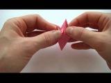 Поделки из бумаги Как сделать оригами цветы