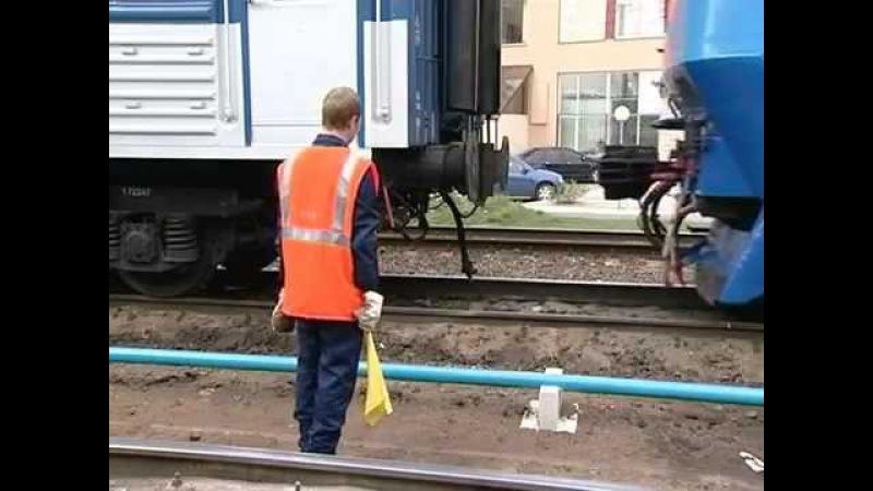 Гибель помощника машиниста на станции Тосно 2008.10.01