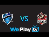 WePlay League Vega Squadron vs Team Empire Highlights