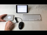 Using traditional USB mouse through the DoBox on iPad