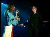 Garou &amp Celine Dion - Sous le vent (live Bercy)