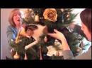 Kot vs. choinka czyli kocie święta