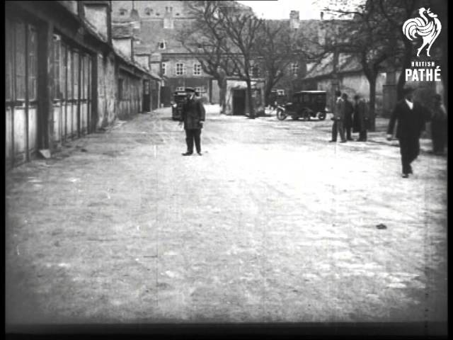 Pedestrian Safety Device Demonstrated Berlin 1927 1927