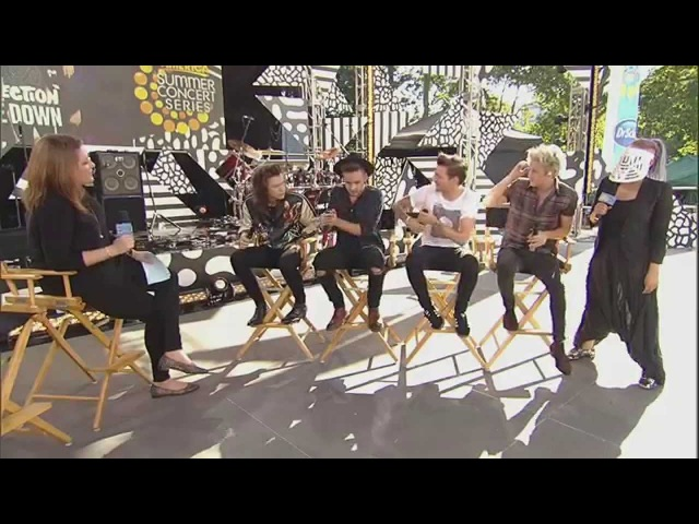 One Direction's Full Interview with 'The View' Co-Hosts