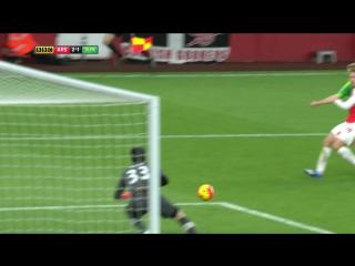 Чемпионат Англии 2015/16: Арсенал 3-1 Сандерленд / ОБЗОР МАТЧА / 05.12.2015 ᴴᴰ