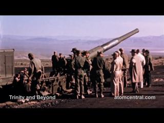 Первое в мире испытание ядерного артиллерийского снаряда в США HD