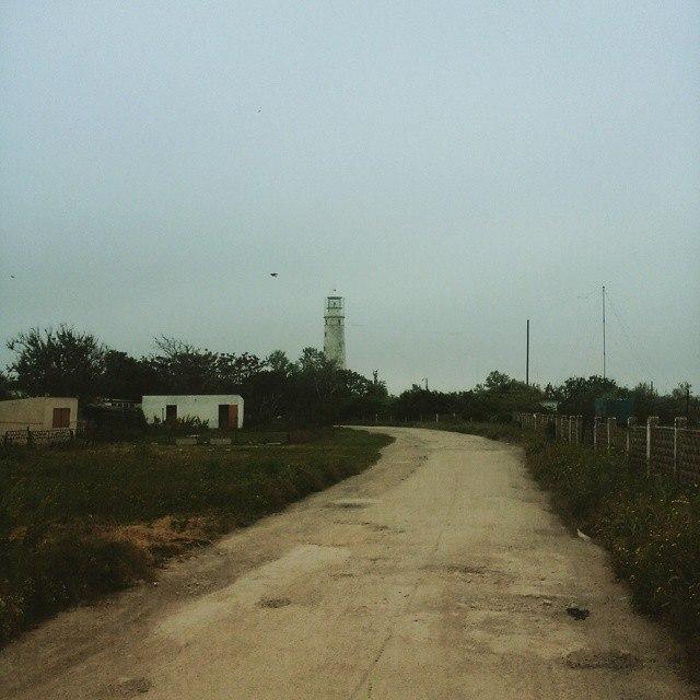 Тарханкутский маяк.