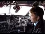 Як-40 Начало предполетной проверки