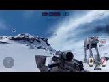 SW Battlefront Beta EPIC AIR SHOT