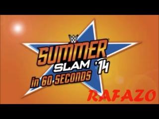 WWE 2K16 - SummerSlam 2014 in 60 Seconds! [HD]