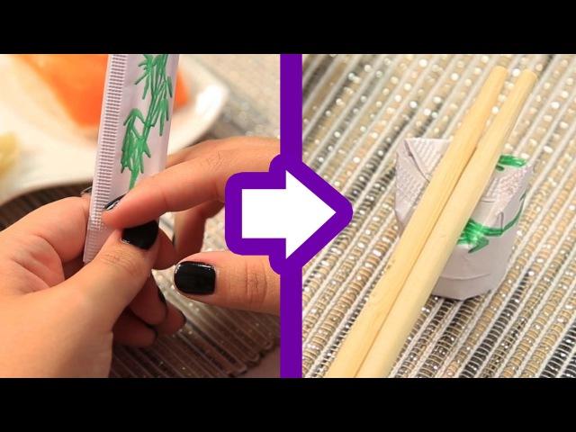 The Chopstick Wrapper Hack
