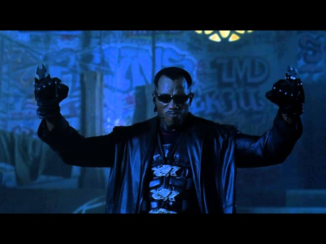 Blade 2 - Blade VS Nomak First Fight - Re-Sound