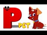 Phonics Letter- P song Five Little Penguins Kids Tv Nursery Rhymes For Children Cartoon Songs