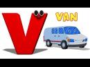 Phonics Letter- V song Finger Family - Bunny Kids Tv Nursery Rhymes For Children