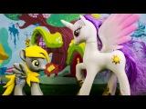 Пони Мультик с игрушками сериал Дёрпи в Стране Сладостей 3 серия  игры для девочек