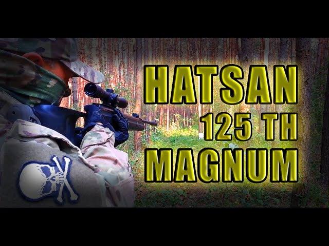 Пневматическая винтовка Hatsan 125 THТест