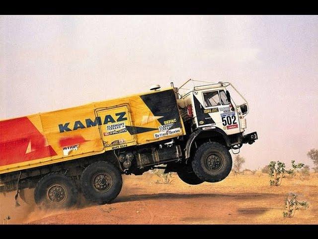 Камаз мастер на дакаре в 1992 году ПОДБОРКА KAMAZ master Dakar