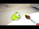Раскраска с Ам Нямом - Учим цвета! - Мультфильмы для детей (мультик 1)