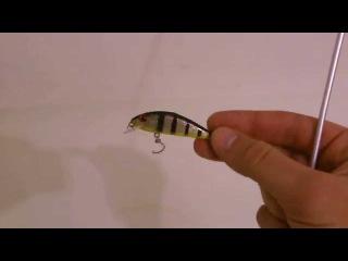 microperch handmade lures