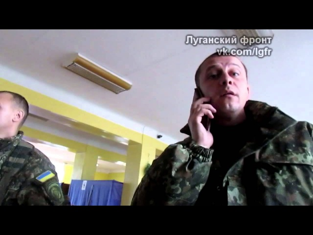 Препятствование журналистской деятельности на выборах в Северодонецке. 15.11.2015