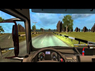 "Euro Truck Simulator 2 - Map ""Around Russia"" beta #1"