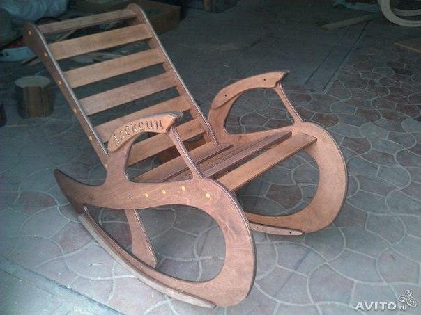 Как сделать кресло качалку своими руками из фанеры схема