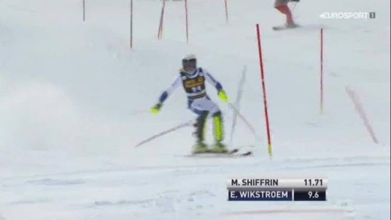 FIS Alpine WC15-16г. SL 1-RUN, Aspen США , жен. 29,11,15г.