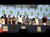 Suicide Squad Comic Con Panel- Will Smith, Margot Robbie, Cara Delevingne, Viola Davis, Jai Courtney