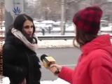 ДТП в Киеве - Я въехала в сугроб, а он там уже лежал избитый
