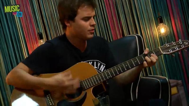 Benjamin Rojas nos canta Polarizado MusicON en FWTV