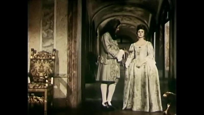 Графиня Коссель (Польша, 1968, 1 и 2 серии) исторический, Даниэль Ольбрыхский, советский дубляж